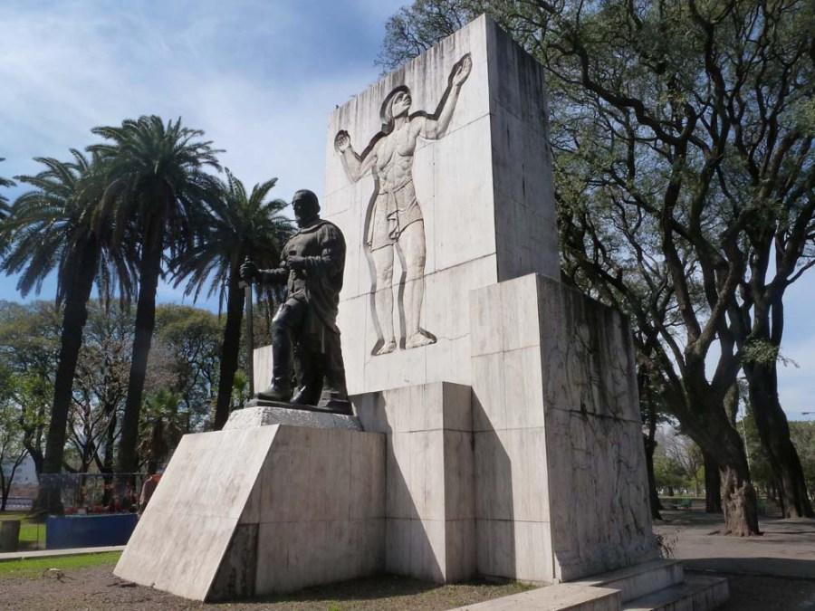 ARGENTINA - Original settlement site of Buenos Aires