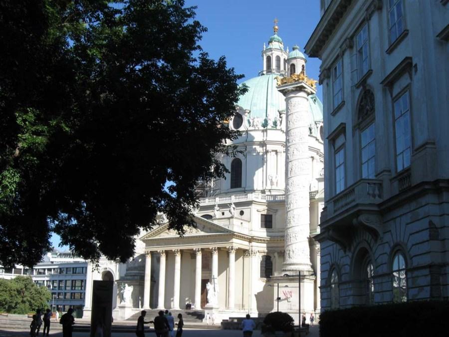 AUSTRIA - Karlskirche in Vienna