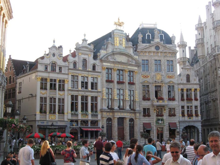 BELGIUM - Grand Place Plaza in Brussels