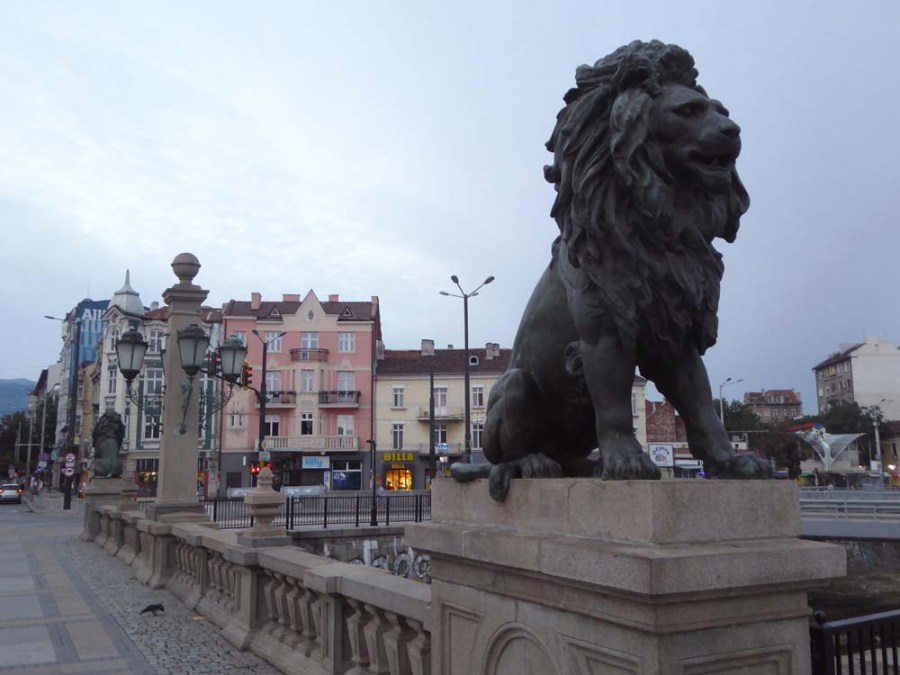 BULGARIA - Lion Bridge in Sofia