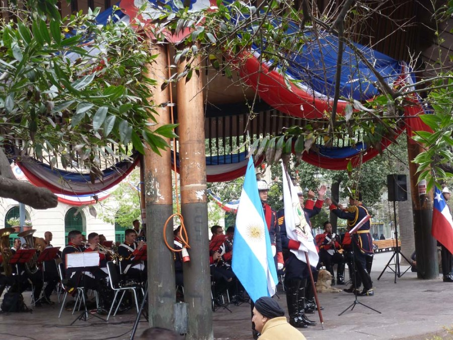 CHILE - Celebrating Chilean Independence Day in Santiago