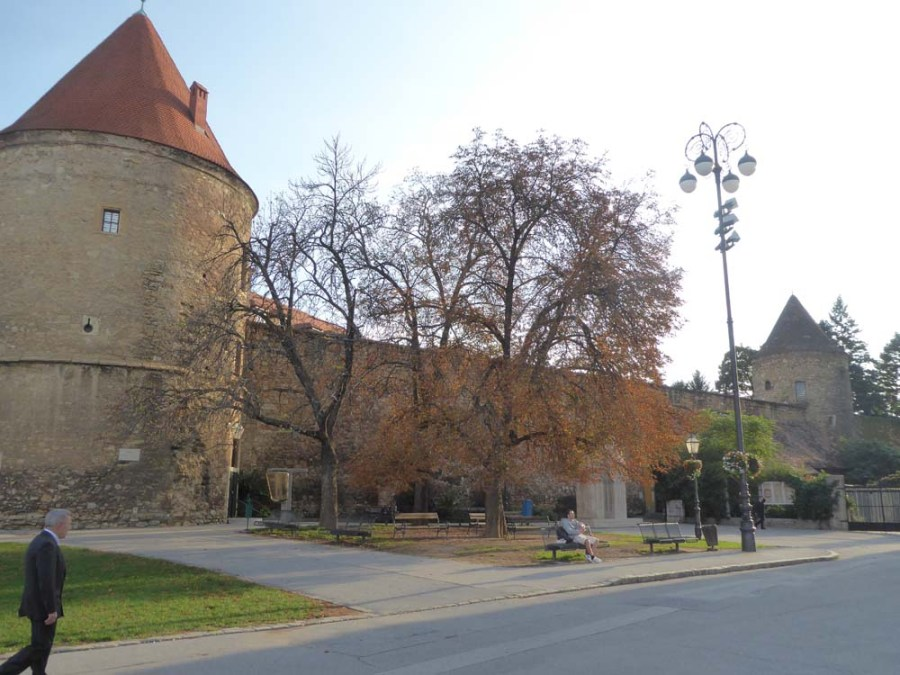 CROATIA - Medieval towers and walls of Zagreb