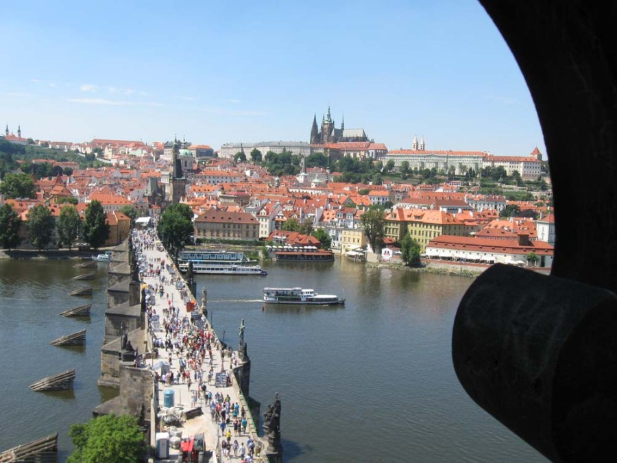 CZECH REPUBLIC - View of Prague from Karluv Most Tower