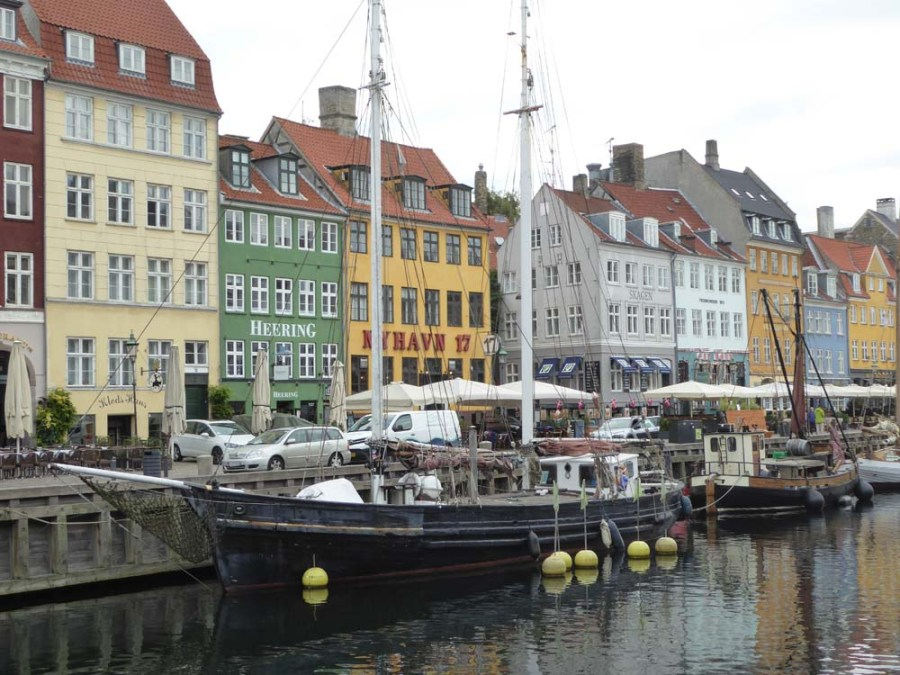 DENMARK - Nyhavn neighborhood in Copenhagen