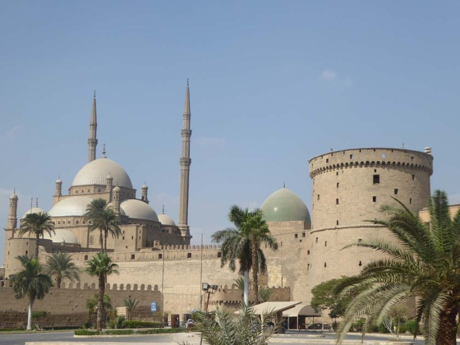 EGYPT - Citadel of Saladin and Mosque in Cairo