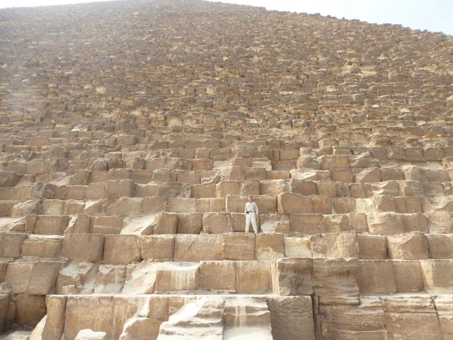 EGYPT - On the Great Pyramid