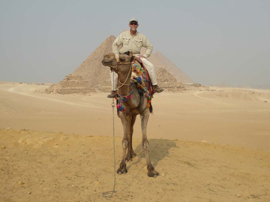 EGYPT - Pyramids of Giza