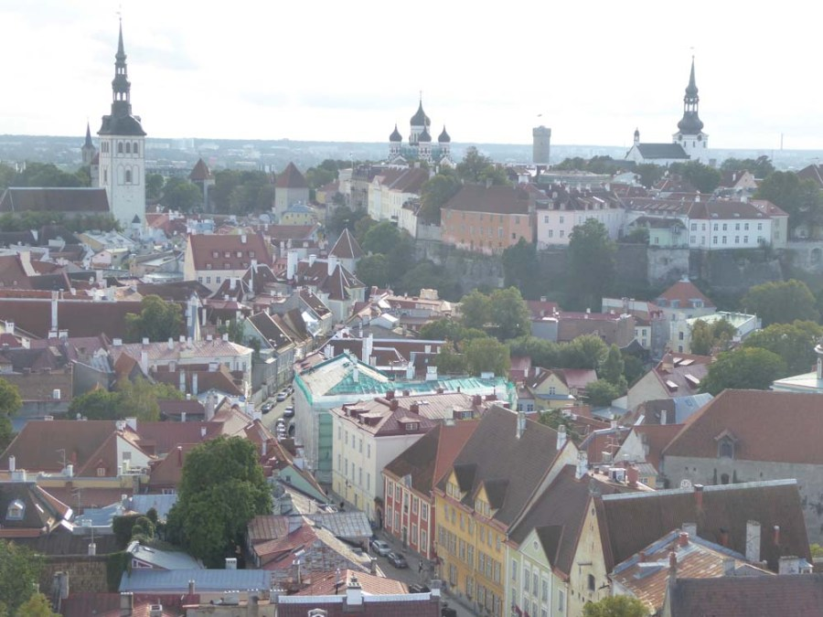 ESTONIA - View of Tallinn and Toompea Hill