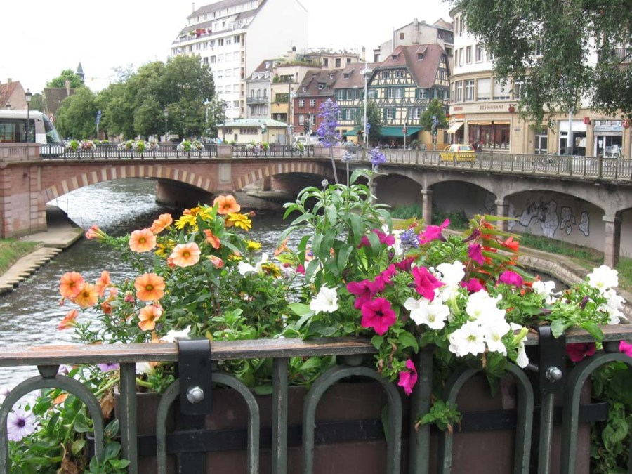 FRANCE - Bridge in Strasbourg