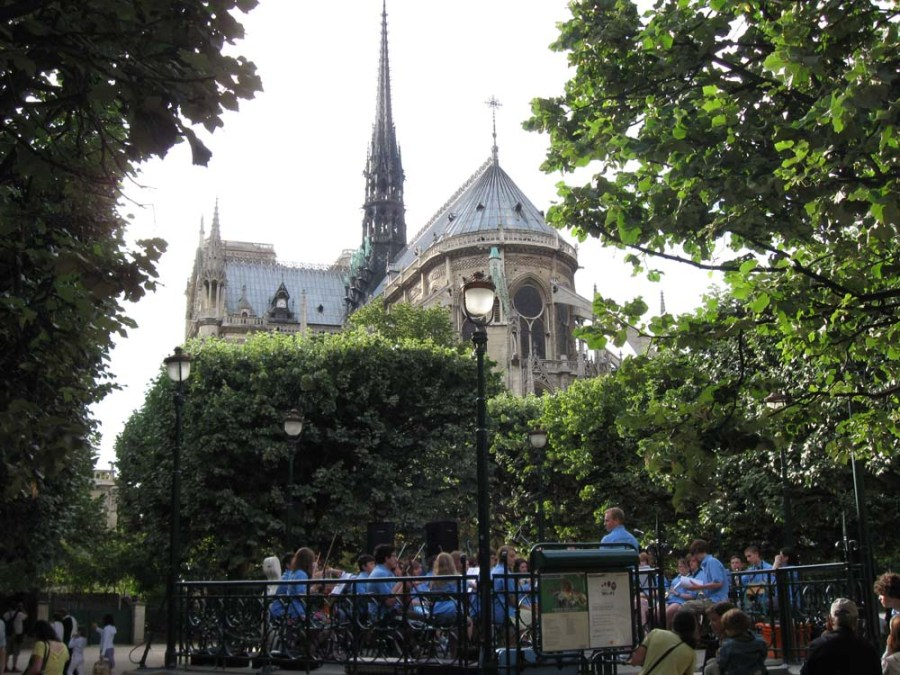 FRANCE - Notre Dame Cathedral in Paris