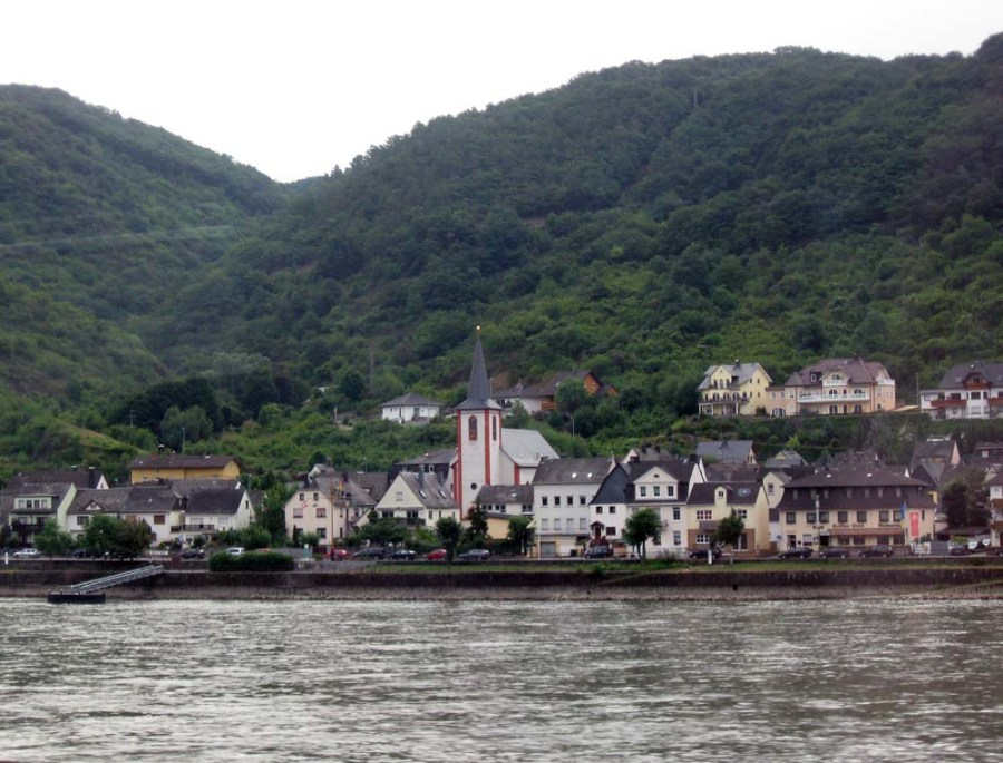 GERMANY - Rhine Valley near Koblenz