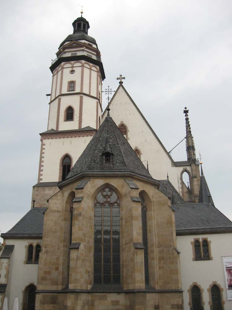 GERMANY - Tomaskirche in Leipzig