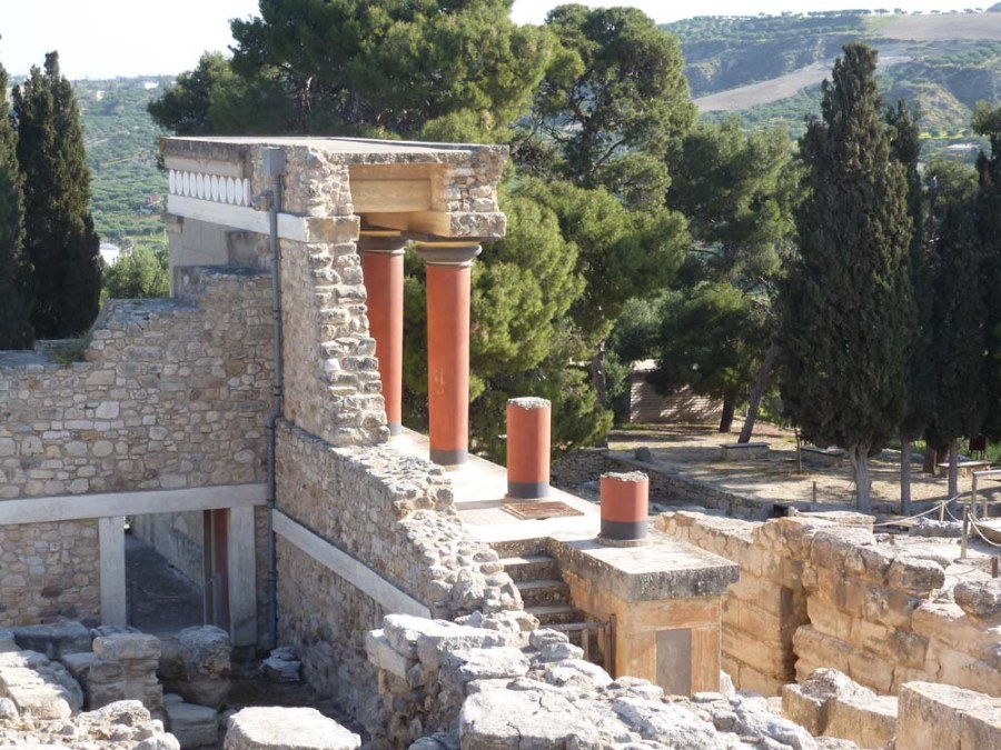 GREECE - Knossos Palace on the island of Crete