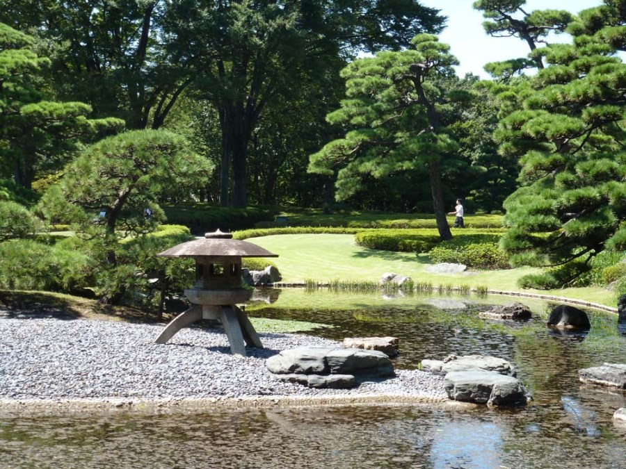 JAPAN - Imperial Palace Garden in Tokyo