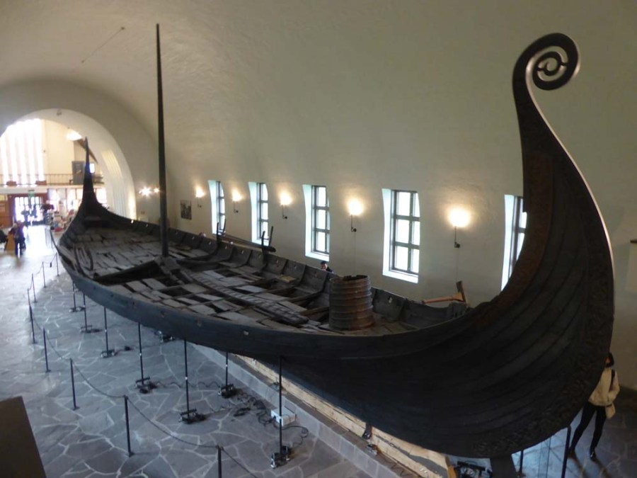 NORWAY - Viking Ship Museum in Oslo