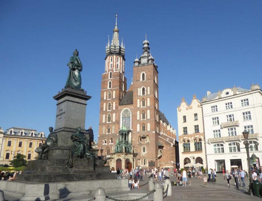 POLAND - Medieval town of Krakow