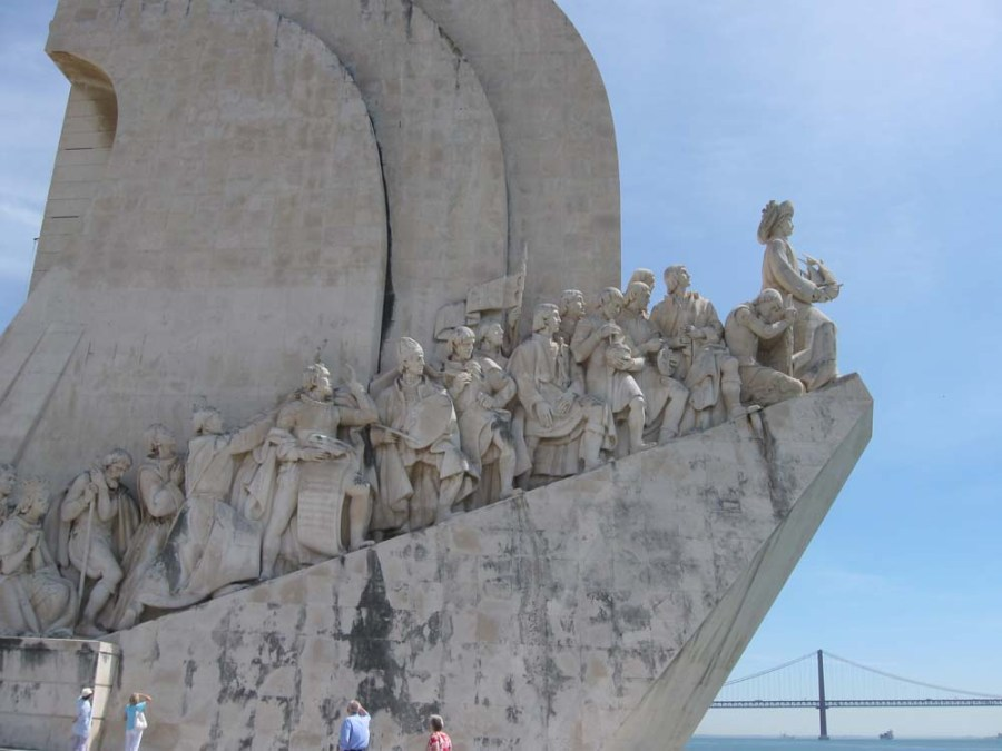 PORTUGAL - Monument to Exploration in Lisbon