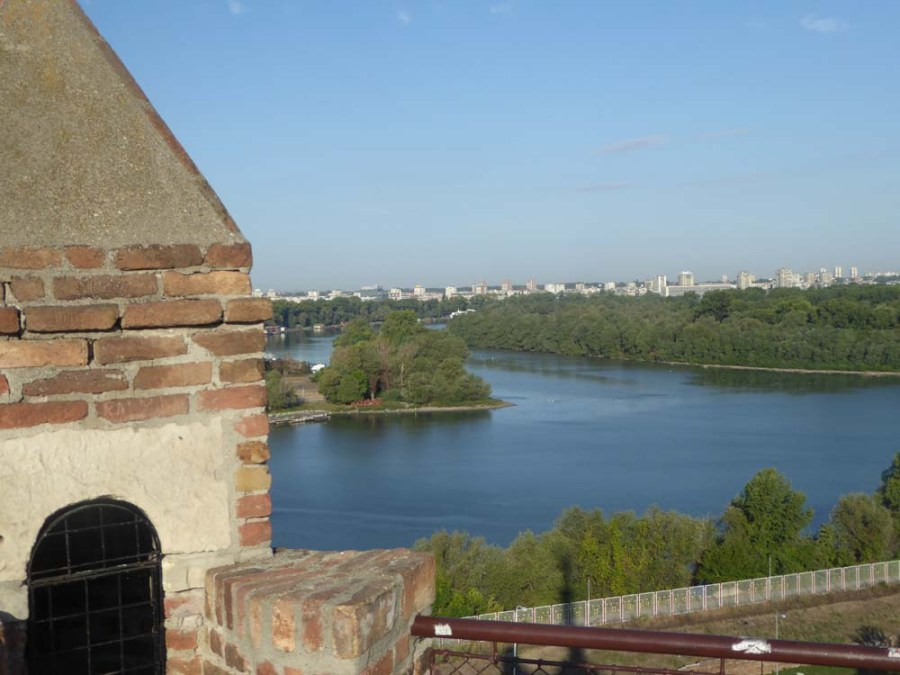 SERBIA - Citadel Kalemegdan on the Danube and Sava Rivers at Belgrade