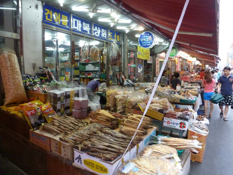 SOUTH KOREA - Market in Uijeongbu