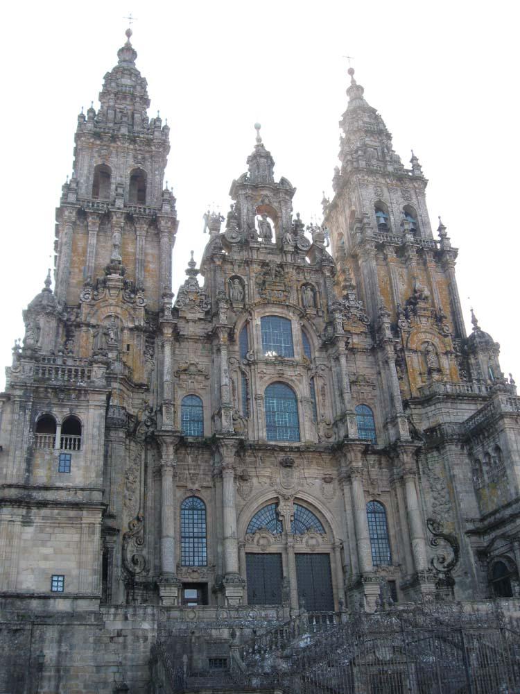 SPAIN - Cathedral at Santiago de Compostela