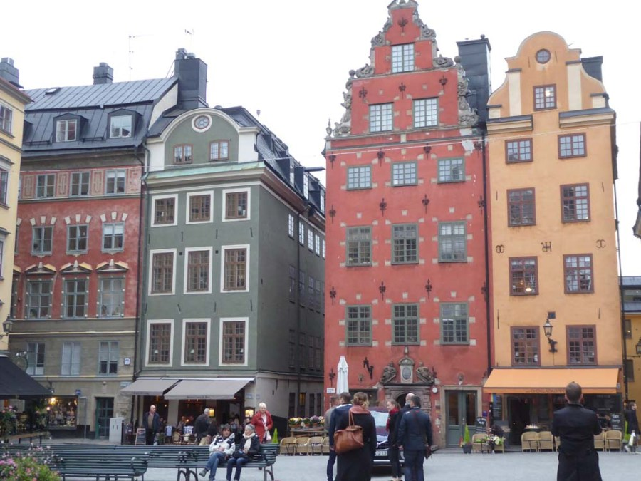 SWEDEN - Gamla Stan Island in Stockholm