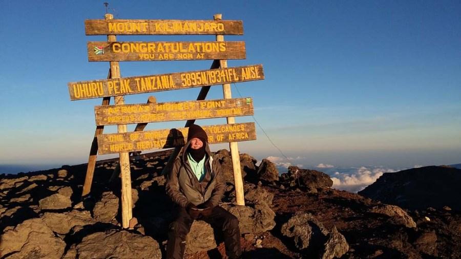 TANZANIA - Kilimanjaro summit