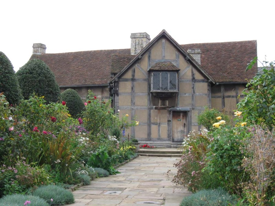 UNITED KINGDOM - Shakespeare birthplace at Stratford-upon-Avon