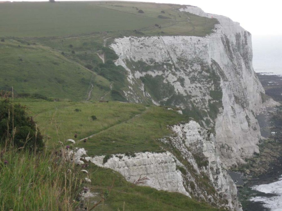 UNITED KINGDOM - Walking along the White Cliffs of Dover
