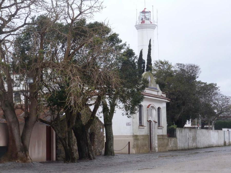 URUGUAY - Lighthouse at the seaside village of Colonia