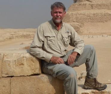 Pyramid at Saqqara, Egypt